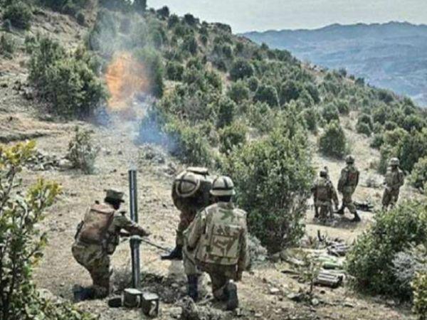 विदेश मंत्रालय के मुताबिक, इस साल पाकिस्तानी सेना ने 2711 बार सीजफायर का उल्लंघन किया है। (फाइल फोटो) - Dainik Bhaskar