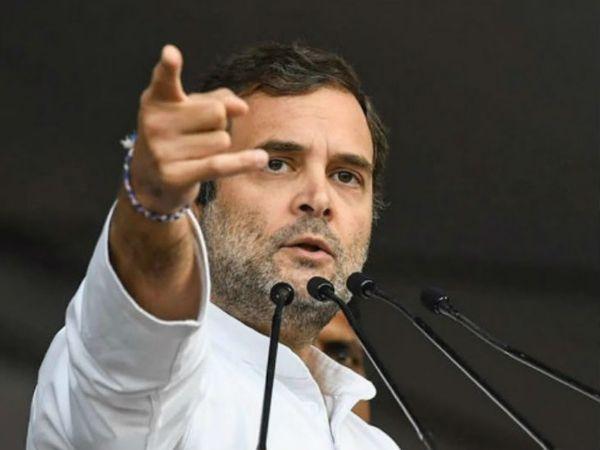 कांग्रेस नेता राहुल गांधी ने कहा- 70 साल में देश में ये नहीं हुआ है, लेकिन अब हमारा देश अपने युवाओं को रोजगार नहीं दे पाएगा। (फाइल फोटो) - Dainik Bhaskar