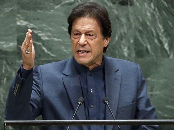 भारत ने कहा कि पाकिस्तान के प्रधानमंत्री इमरान खान ने 2019 में संयुक्त राष्ट्र महासभा में माना था कि उनके देश में 40 से 50 हजार आतंकी मौजूद हैं। -फाइल फोटो - Dainik Bhaskar