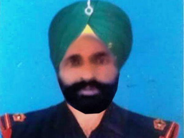 सेना के पीआरओ ने बताया कि पाकिस्तान की गोलीबारी में नायब सूबेदार राजविंदर सिंह गंभीर रूप से घायल हो गए थे। बाद में उन्होंने दम तोड़ दिया। - Dainik Bhaskar