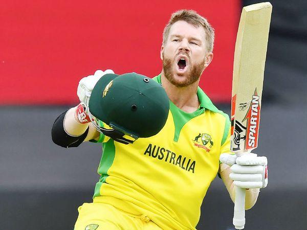 डेविड वार्नर ने इंग्लैंड के खिलाफ टी-20 में 47 बॉल पर 58 रन की पारी खेली थी। -फाइल फोटो - Dainik Bhaskar