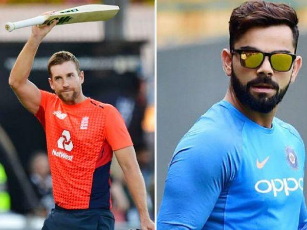 इंग्लिश बल्लेबाज डेविड मलान ने कहा- मौजूदा समय में विराट कोहली के आसपास भी नहीं हूं। -फाइल फोटो - Dainik Bhaskar