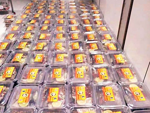 मेघा प्लास्टिक कंटेनर में सलाद पैक करके देती हैं। पैकिंग का कोई आइडिया नहीं था, सब एक्सपेरिमेंट करते-करते सीखा।