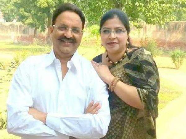 बाहुबली विधायक मुख्तार अंसारी की पत्नी आफसा अंसारी  और उनके दो सालों के खिलाफ गैंगस्टर केस दर्ज किया गया है। - Dainik Bhaskar