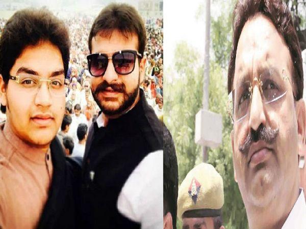 यूपी सरकार ने बाहुबली विधायक मुख्तार अंसारी के दोनों बेटों के खिलाफ 25-25 हजार रुपए का इनाम घोषित किया है। - Dainik Bhaskar