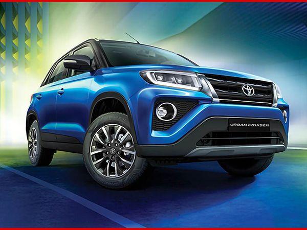 टोयोटा अर्बन क्रूजर का भारतीय बाजार में मारुति सुजुकी ब्रेजा, फोर्ड ईकोस्पोर्ट, हुंडई वेन्यू, किआ सोनेट, टाटा नेक्सन और महिंद्रा XUV300 से हो सकता है - Dainik Bhaskar