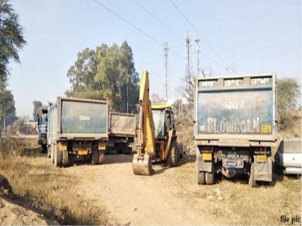 एसपी अम्ब सृष्टि पांडे के मुताबिक गगरेट पुलिस ने तीन टिप्पर देर रात जब्त किए हैं। पुलिस ने इस बार जुर्माना नहीं वसूला है, टिप्पर बांड किए हैं। खनन माफिया के खिलाफ पुलिस लगातार सख्ती जारी रखेगी। - Dainik Bhaskar
