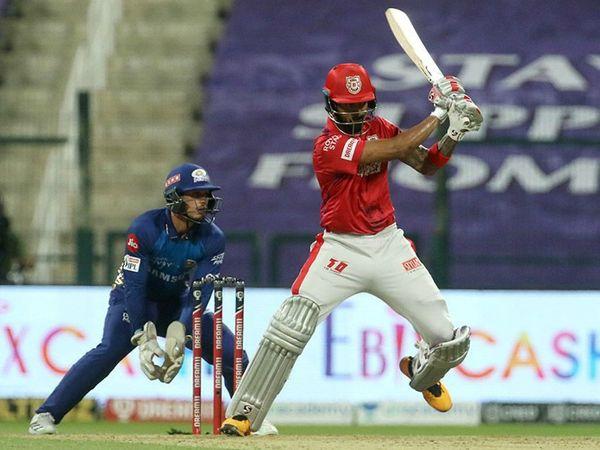 पंजाब के कप्तान लोकेश राहुल ने मुंबई के खिलाफ 500 रन पूरे किए। हालांकि इस मैच में राहुल कुछ खास नहीं कर सके।
