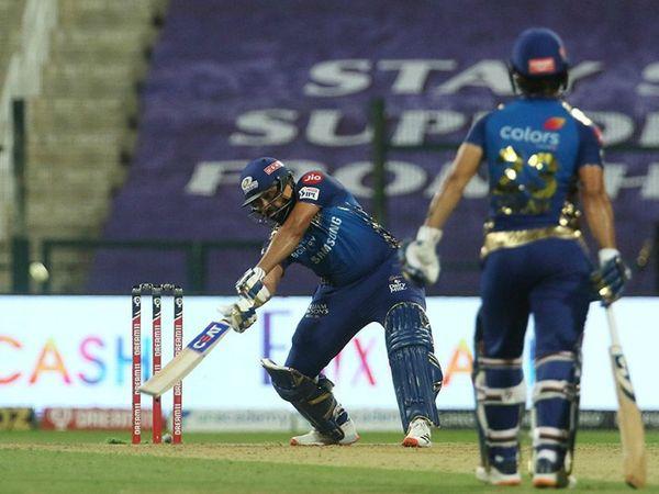 रोहित शर्मा ने संभल कर खेलते हुए शानदार 70 रन बनाए। रोहित ने आईपीएल में अपने 5000 रन भी पूरे किए। ऐसा करने वाले वे तीसरे खिलाड़ी हैं।
