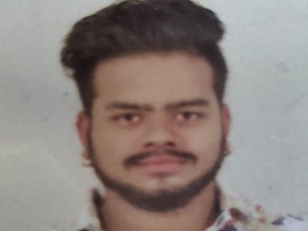 22 वर्षीय चेतन सोलंकी की हत्या कर दी गई है। - Dainik Bhaskar