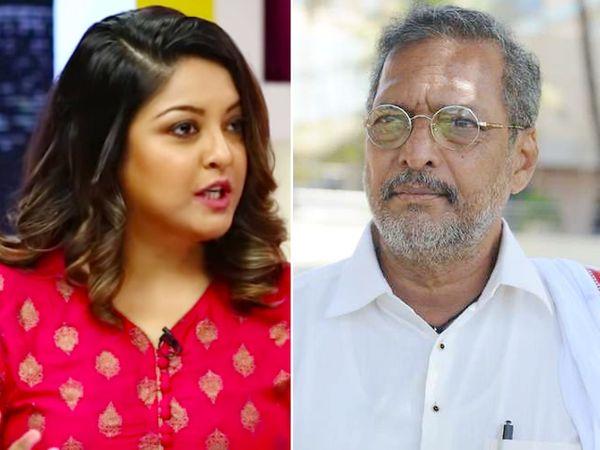 तनुश्री दत्ता का आरोप है कि 2008 में फिल्म 'हॉर्न ओके प्लीज' के सेट पर एक गाने की शूटिंग के दौरान नाना पाटेकर ने उन्हें गलत तरीके से छूने की कोशिश की थी। - Dainik Bhaskar