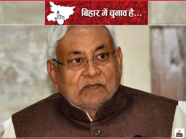 नीतीश कुमार ने प्रत्याशियों को सिंबल देते हुए अपने-अपने क्षेत्रों में जाने का आदेश दिया है। - Dainik Bhaskar