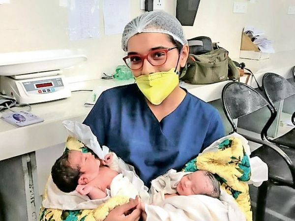 कोरोना काल में सिविल और स्मीमेर अस्पताल में 7 हजार डिलीवरी हो चुकी हैं। ज्यादातर बच्चे निगेटिव हैं। - Dainik Bhaskar
