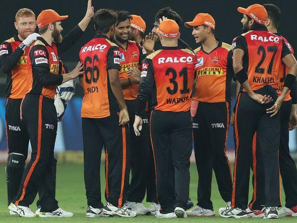 किंग्स इलेवन पंजाब को हराकर सनराइजर्स हैदराबाद पॉइंट्स टेबल में तीसरे स्थान पर पहुंच गई है। - Dainik Bhaskar