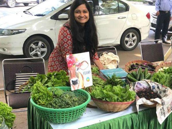 नेहा भाटिया ने लंदन स्कूल ऑफ इकोनॉमिक्स से मास्टर्स किया है। पिछले तीन साल से वो ऑर्गेनिक फार्मिंग कर रही हैं। - Dainik Bhaskar