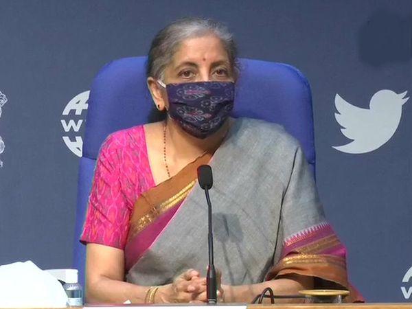 वित्त मंत्री निर्मला सीतारमण ने आज जीएसटी काउंसिल की बैठक के बाद प्रेस कॉन्फ्रेंस की। उन्होंने कहा- जीएसटी मुआवजे पर कोई विवाद नहीं है, केवल राय का अंतर है। - Dainik Bhaskar
