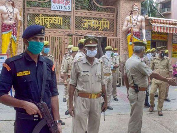 सिविल कोर्ट में यह केस भगवान श्रीकृष्ण विराजमान, कटरा केशव देव खेवट, मौजा मथुरा बाजार शहर की ओर से वकील रंजना अग्निहोत्री और 6 अन्य भक्तों की ओर से दायर किया गया था। - Dainik Bhaskar