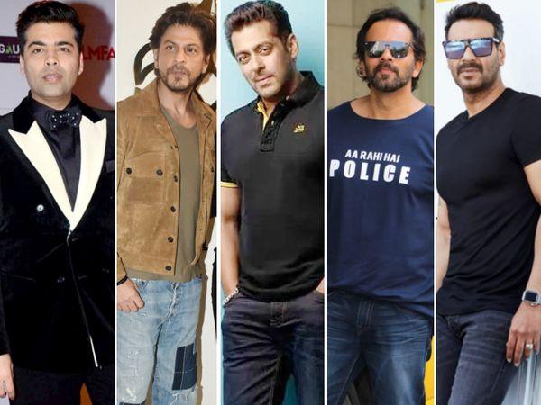 याचिकाकर्ताओं में करन जौहर, शाहरुख खान, सलमान खान, रोहित शेट्टी और अजय देवगन जैसे बड़े निर्माताओं के प्रोडक्शन हाउस शामिल हैं। - Dainik Bhaskar