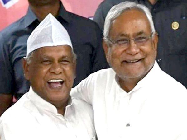 नितीश कुमार ने मई 2014 से फरवरी 2015 के बीच मांझी को मुख्यमंत्री की कुर्सी सौंपी थी। - Dainik Bhaskar