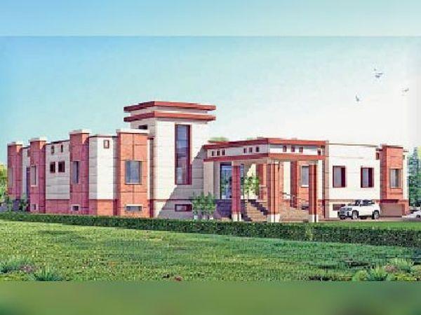 ऐसा होगा नगरपालिका का नया भवन - Dainik Bhaskar