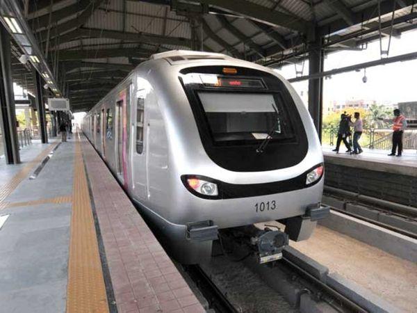 मुंबई मेट्रो पिछले 6 महीने से बंद चल रही है। - Dainik Bhaskar