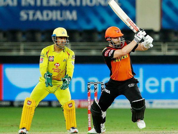 हैदराबाद के लिए केन विलियम्सन ने 39 बॉल पर सबसे ज्यादा 57 रन की पारी खेली, लेकिन वे टीम को जीत नहीं दिला सके।