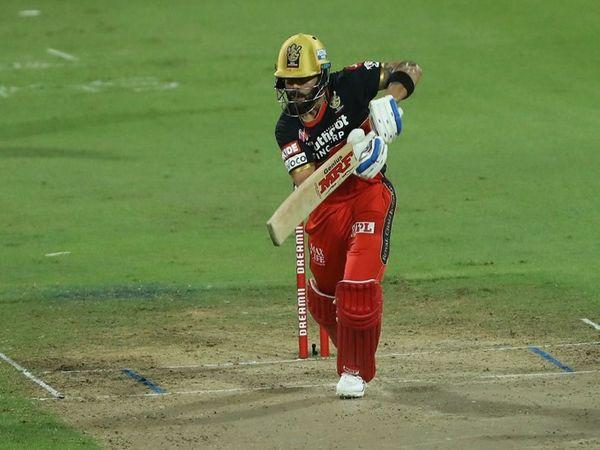 विराट कोहली ने आईपीएल में अब तक खेले 7 मैचों में 256 रन बनाए हैं। - Dainik Bhaskar