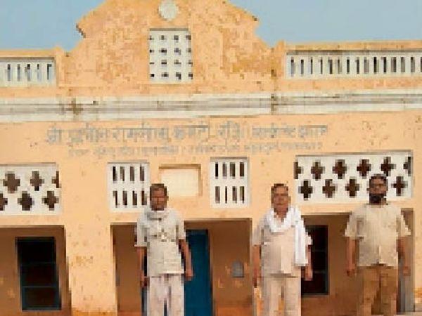 प्राचीन रामलीला मैदान, यहां नगर परिषद द्वारा कराया गया सौंदर्यीकरण। - Dainik Bhaskar