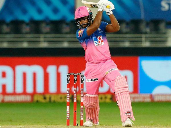 राजस्थान के बल्लेबाज संजू सैमसन ने टीम के लिए सबसे ज्यादा 36 बनाए।