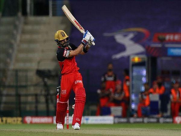 विराट कोहली ने पिछले मैच में केकेआर के खिलाफ चौका लगाकर आईपीएल में 500 चौके लगाने वाले दूसरे बल्लेबाज बने थे।10 मैच खेले और इस दौरान 365 रन बनाए। इनमें 20 चौके और 9 छक्के शामिल हैं। - Dainik Bhaskar