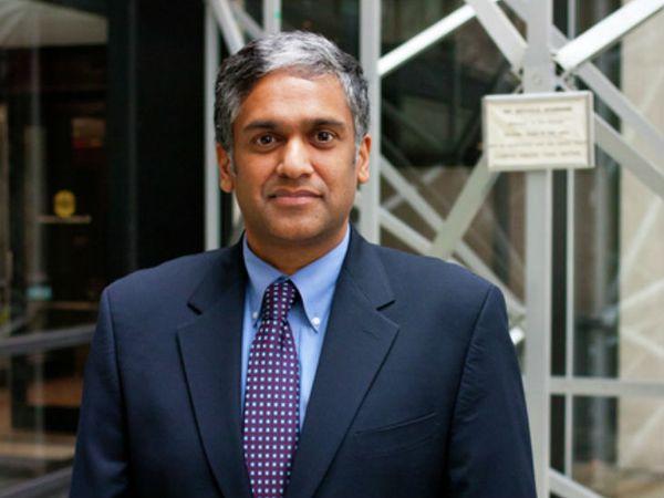 भारतीय मूल के अनंत पी. चंद्राकसन एमआईटी, स्कूल ऑफ इंजीनियरिंग के डीन हैं। - Dainik Bhaskar