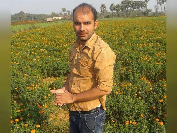 औरंगाबाद के बरौली गांव के रहने वाले अभिषेक कुमार को खेती के लिए कई सम्मान मिल चुके हैं। - Dainik Bhaskar