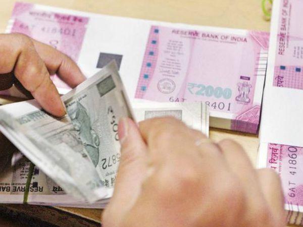 पिछले साल अक्टूबर में GST कलेक्शन 95,379 करोड़ रुपए रहा था।- प्रतीकात्मक फोटो। - Dainik Bhaskar