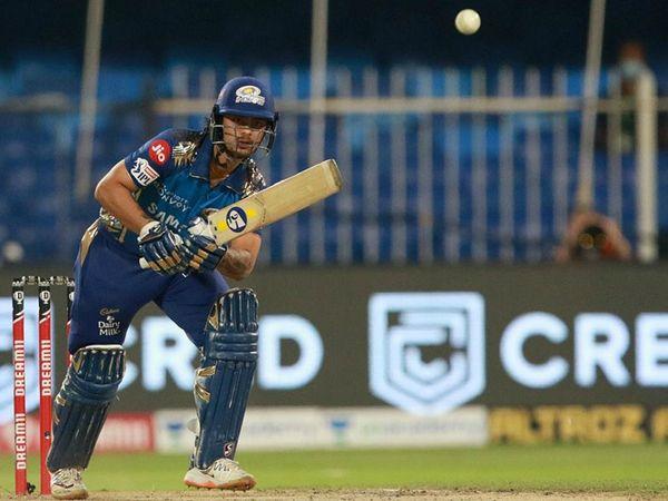 ईशान किशन ने भी 33 रन की अहम पारी खेली।