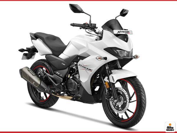 बाइक को स्पोर्ट्स रेड, पैंथर ब्लैक और नए पर्ल फेडलेस व्हाइट कलर में खरीद सकते हैं - Dainik Bhaskar