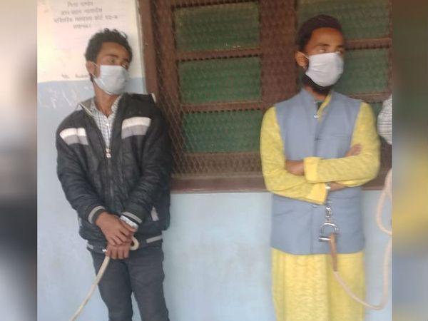संदिग्ध आतंकी इकबाल व फारुख बांग्लादेश के रहने वाले हैं। - Dainik Bhaskar