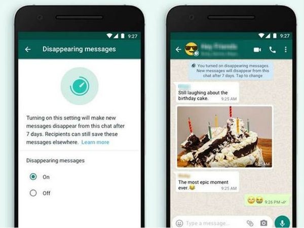 वॉट्सऐप डिसअपीयरिंग मैसेज आईओएस पर वर्जन 2.20.121 में मिलेगा। - Dainik Bhaskar