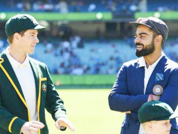 पॉइंट्स परसेंटेज की रैंकिंग में ऑस्ट्रेलिया पहले और भारतीय टीम दूसरे नंबर पर आ गई है।- फाइल फोटो - Dainik Bhaskar