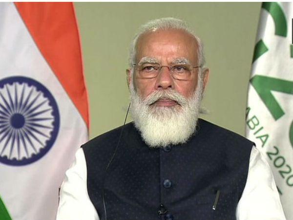 पीएम मोदी ने कहा कि यह मानवता के इतिहास में एक अहम मोड़ है। वर्क फ्रॉम एनिवेयर अब न्यू नॉर्मल है। - Dainik Bhaskar