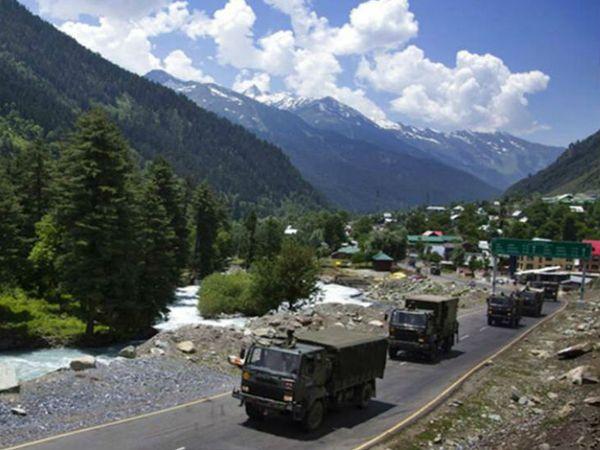 भारत और चीन के बीच पूर्वी लद्दाख में मई से गतिरोध कायम है। -फाइल फोटो - Dainik Bhaskar