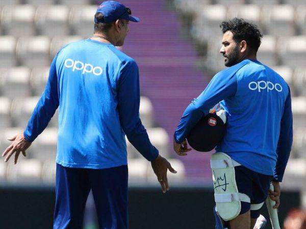 टीम इंडिया के कोच रवि शास्त्री ने कहा कि क्वारैंटाइन नियमों की वजह से उन्हें अगले 4-5 दिनों में भारत से ऑस्ट्रेलिया के लिए रवाना होगा। - Dainik Bhaskar