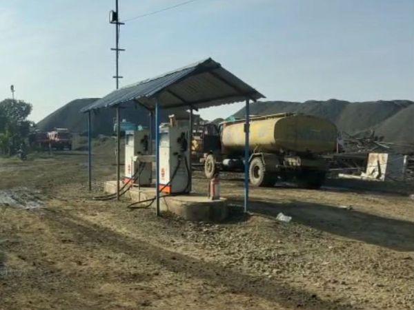 बाल-बाल बच गया 50 मीटर की दूरी पर स्थित पेट्रोल पंप
