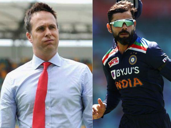 इंग्लैंड के पूर्व कप्तान माइकल वॉन ने कहा कि कोहली फैक्टर के बिना भारत का टेस्ट जीतना बहुत मुश्किल है। - Dainik Bhaskar