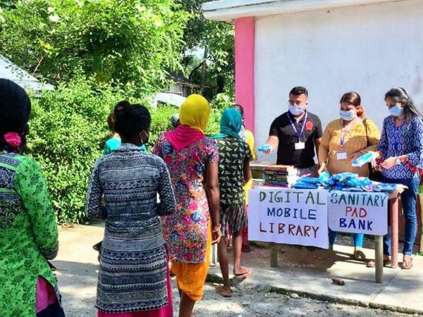 20 चाय बागानों के करीब 18 सौ बच्चे इस मोबाइल लाइब्रेरी का लाभ उठा चुके हैं। इनमें से 80 फीसदी लड़कियां हैं।