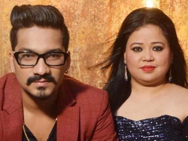 कॉमेडियन भारती और उनके पति हर्ष को NCB ने गांजा रखने के आरोप में गिरफ्तार किया था। कोर्ट ने 24 नवंबर को दोनों को 15-15 हजार रुपए के बॉन्ड पर जमानत दे दी थी। -फाइल फोटो। - Dainik Bhaskar