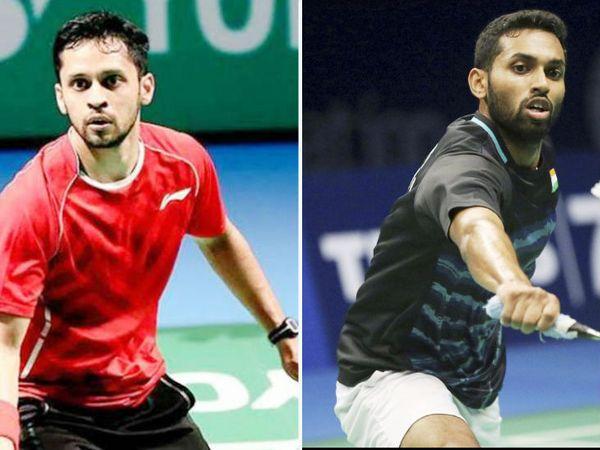 पी कश्यप (बाएं) की वर्ल्ड रैंकिंग 23 है, जबकि एचएस प्रणॉय की वर्ल्ड रैंकिंग-27 है। - Dainik Bhaskar