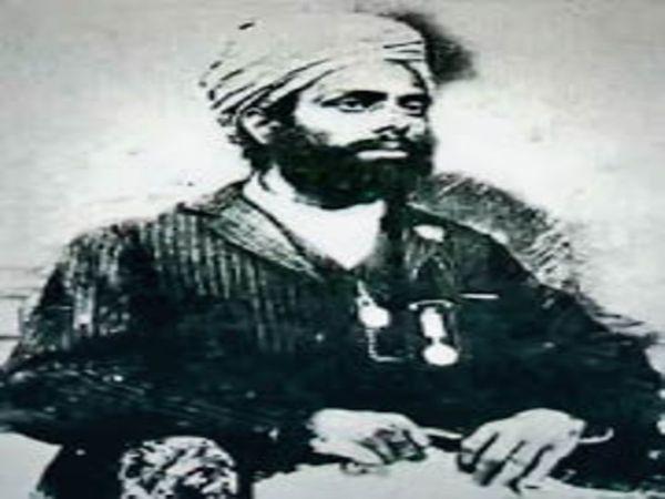 पगड़ी संभाल जट्टा किसान आंदोलन की अगवाई करने वाले सरदार अजीत सिंह। शहीद-ए-आज़म भगत सिंह के चाचा जी थे। (फाइल)
