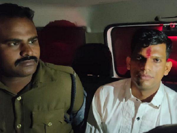 छत्तीसगढ़ के कोरबा से बिलासपुर पुलिस ने योग गुरू को रेप के आरोप में गिरफ्तार कर लिया है। महिला ने शादी का झांसा देकर रेप का आरोप लगाया है। - Dainik Bhaskar