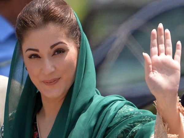 पाकिस्तान के पूर्व प्रधानमंत्री नवाज शरीफ की बेटी मरियम नवाज ने सोमवार को कहा कि सरकार के विरोध के बाद भी विपक्षी पार्टियां रैली निकालेंगी।- फाइल फोटो - Dainik Bhaskar