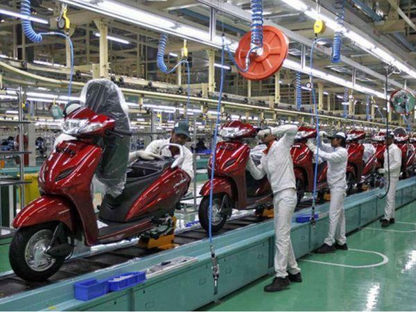 कंपनी ने पिछले वित्त वर्ष 2020 में 50 लाख दुपहिया वाहन बेचे, जिनमें निर्यात भी शामिल था, यह पिछले वर्ष के 59 लाख यूनिट से मुकाबले कम है। - Dainik Bhaskar